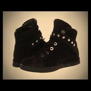 Stuart Weitzman Grey Shotput Sneakers